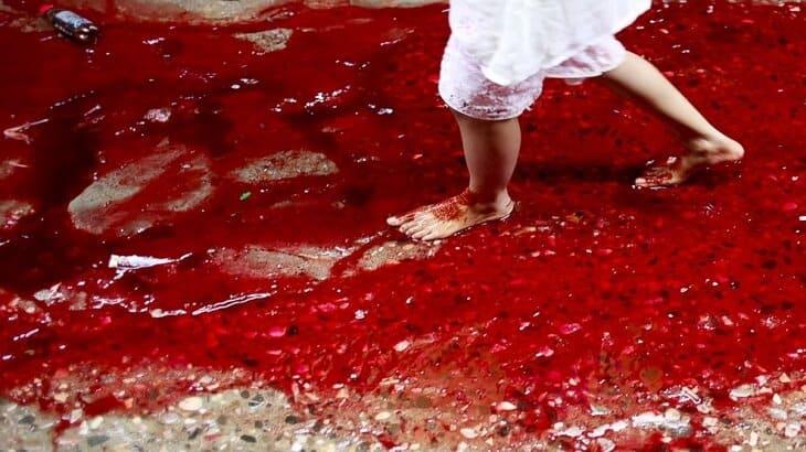 تفسير رؤية الدم في الحلم