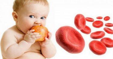 علاج نقص الهيموجلوبين في الدم عند الأطفال
