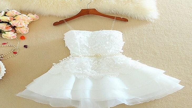 c6397162e950d تفسير رؤية لبس الفستان الابيض في الحلم