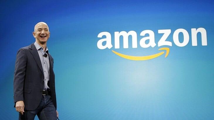 جيف بيزوس مؤسس امازون في أول قائمة أغنى 7 رجال اعمال