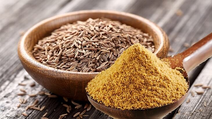 benefits of cumin on the leg for slimming and weight loss