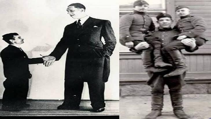 برنار كوين من اطول 7 رجال في العالم