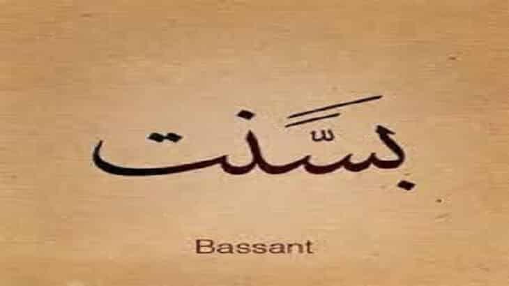 معنى اسم بسنت Basant وصفات حاملة الاسم