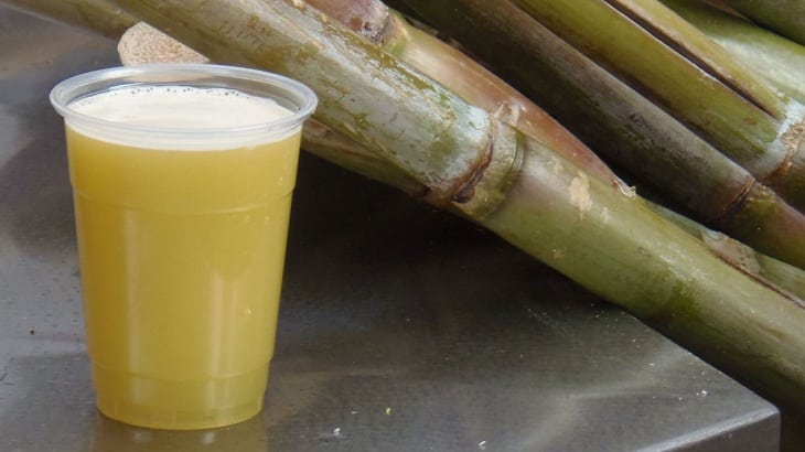 what benefits of cane juice on the saliva?