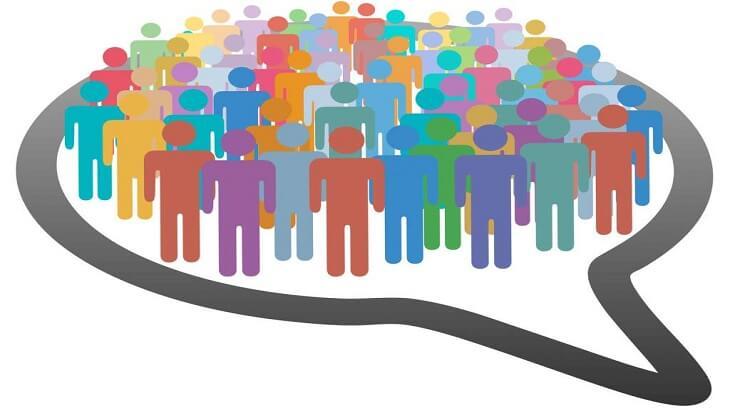 موضوع تعبير عن التعداد السكاني بالأفكار