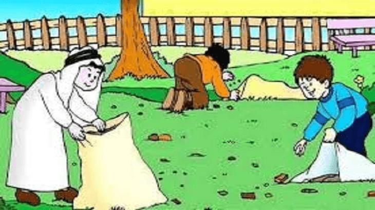 موضوع تعبير عن النظافة بالعناصر والافكار