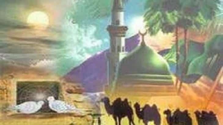 موضوع تعبير عن هجرة الرسول إلى المدينة بالأفكار