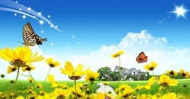 انشاء عن الربيع للصف الثاني متوسط