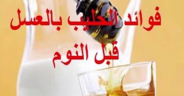 فوائد اللبن والعسل