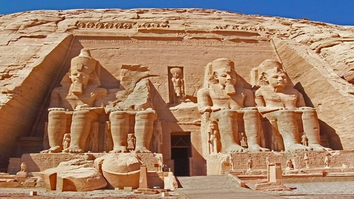 information and facts about the temple of abu simbel