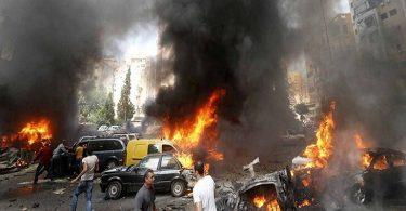 موضوع تعبير عن الإرهاب ونبذ العنف بالعناصر والاستشهادات