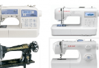 أفضل انواع ماكينات الخياطة والتطريز المنزلية بالتفصيل