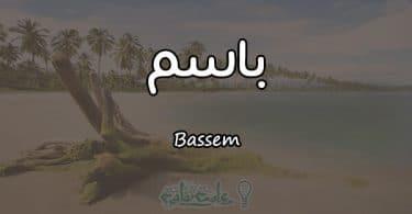 معنى اسم باسم Bassem وصفاته في علم النفس