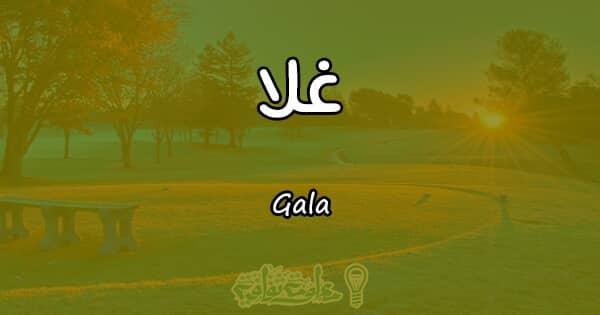 معنى اسم غلا Gala وصفات حاملة الاسم