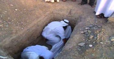 تفسير رؤية الدفن في المنام