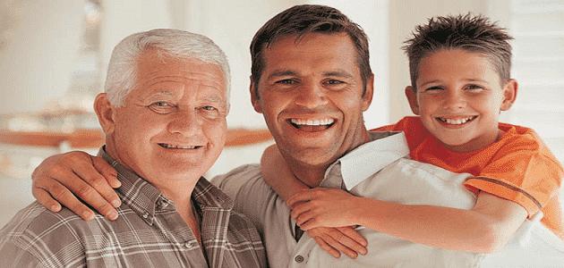 رؤية الأب في المنام الحي أو المتوفي لابن سيرين