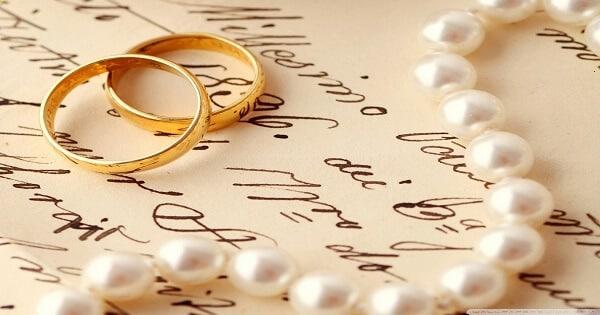 رسائل تهنئة بعيد الزواج للزوج والزوجة