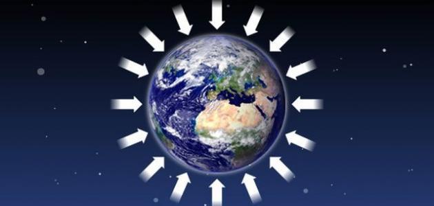 الجاذبية الأرضية