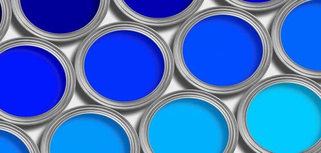 تفسير رؤية اللون الأزرق في المنام