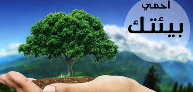 عبارات وكلمات عن البيئة والمحافظة عليها معلومة ثقافية