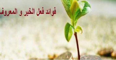 فوائد فعل الخير فى الإسلام