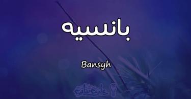 معنى اسم بانسيه Bansyh وأسرار شخصيتها وصفاتها