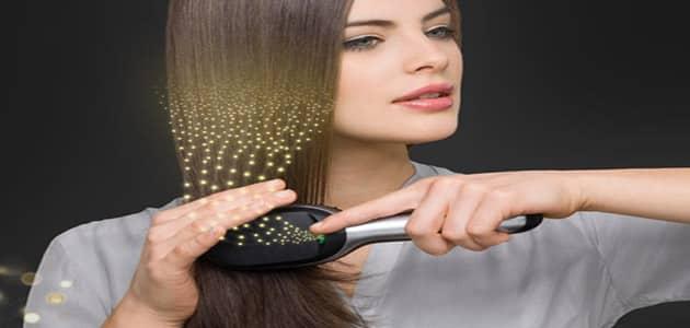 أضرار الفرشاة الحرارية على الشعر