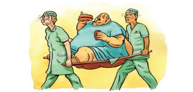 اضرار السمنه على القلب والجسم