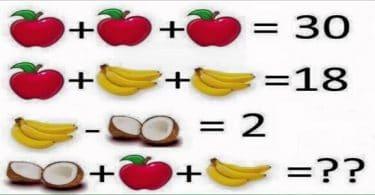 الغاز و فوازير رياضيات سهلة و قصيرة