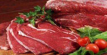 اللحوم الحمراء