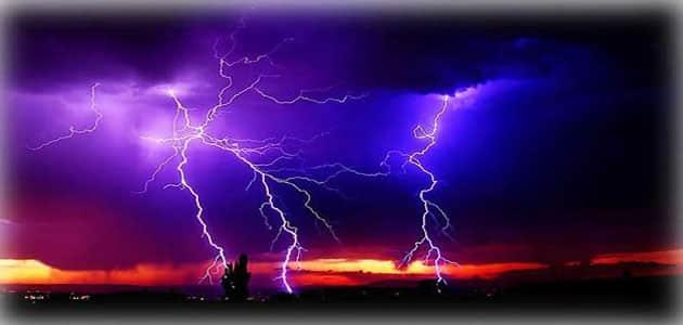 الرعد والبرق
