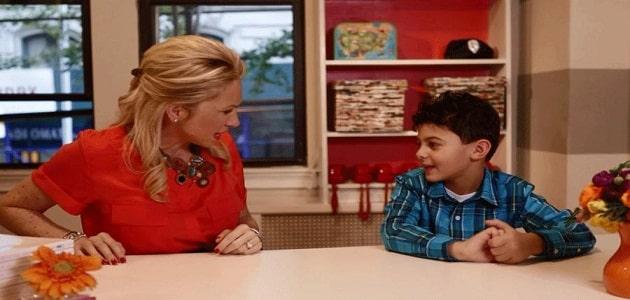 آداب حديث الكلام والاستماع عند الأطفال
