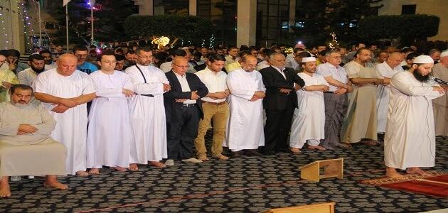 أشكال الاختلاف بين المذاهب الأربعة في الصلاة