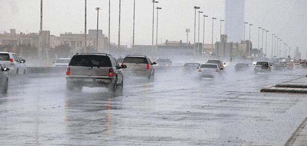 استجابة دعاء هطول الأمطار بغزارة والمحملة بالبرق والرعد