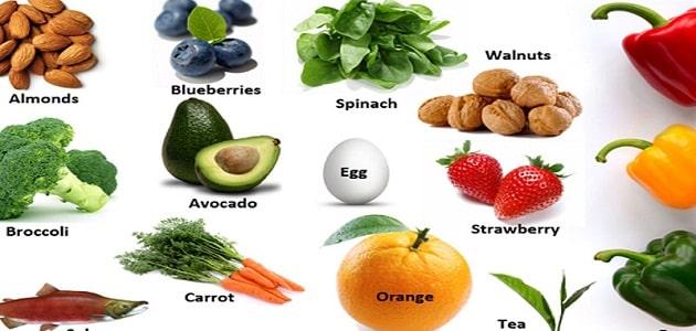 اهم الأغذية الغنية بالألياف الطبيعية بكثرة
