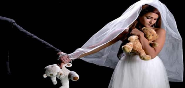 زواج القاصرات في مصر