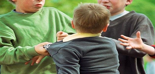 بحث عن مظاهر العنف المدرسي وكيفية علاجه