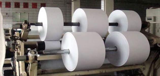 بحث كامل عن مراحل صناعة الورق