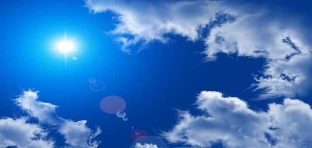 تفسير رؤية السحاب والغيوم في المنام