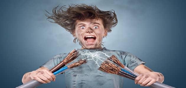 رؤية صعق الكهرباء في المنام