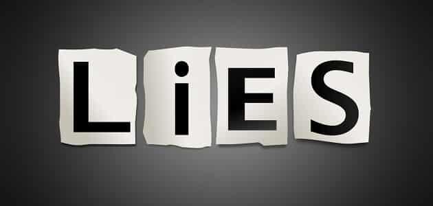 حكم واقوال مثيرة عن الكذب عند الرجل والمرأة