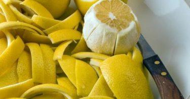 فوائد قشر الليمون للرجيم