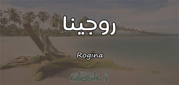 معنى اسم روجينا Rogina وشخصيتها حسب علم النفس