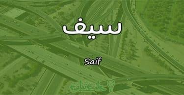 معنى اسم سيف Saif وأسرار شخصيته وصفاته