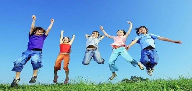 موضوع تعبير عن الطفولة صانعة المستقبل بالعناصر معلومة ثقافية