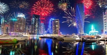 أجمل أماكن للاحتفال برأس السنة في دبي