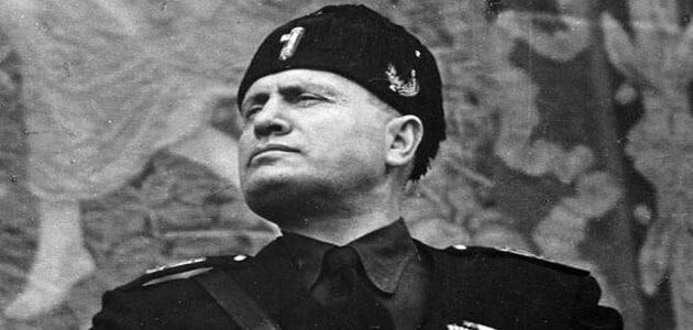 أشهر مقولات بينيتو موسوليني قبل إعدامه