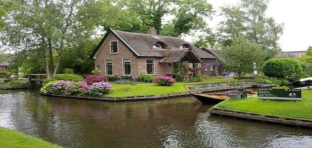 ابرز الأماكن الترفيهية في جيثورن الهولندية