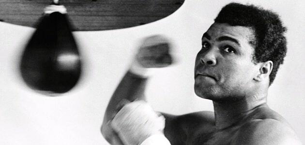 افضل 26 مقولة توضح شخصية اللاعب محمد علي كلاي