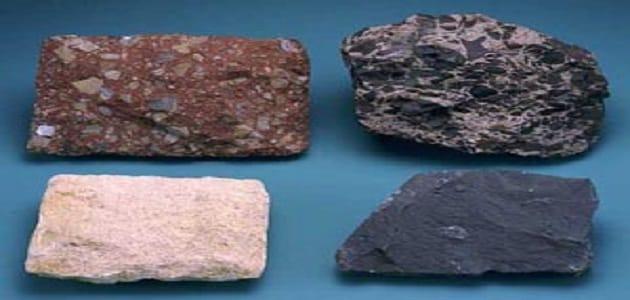بحث عن انواع الصخور الرسوبية وخصائصها مع الصور